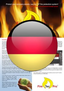 Brochure FireTecPro 19'' in German