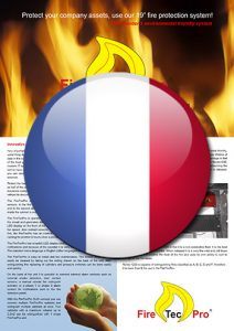 Brochure FireTecPro 19'' in French