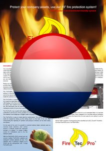 Brochure FireTecPro 19'' in Dutch