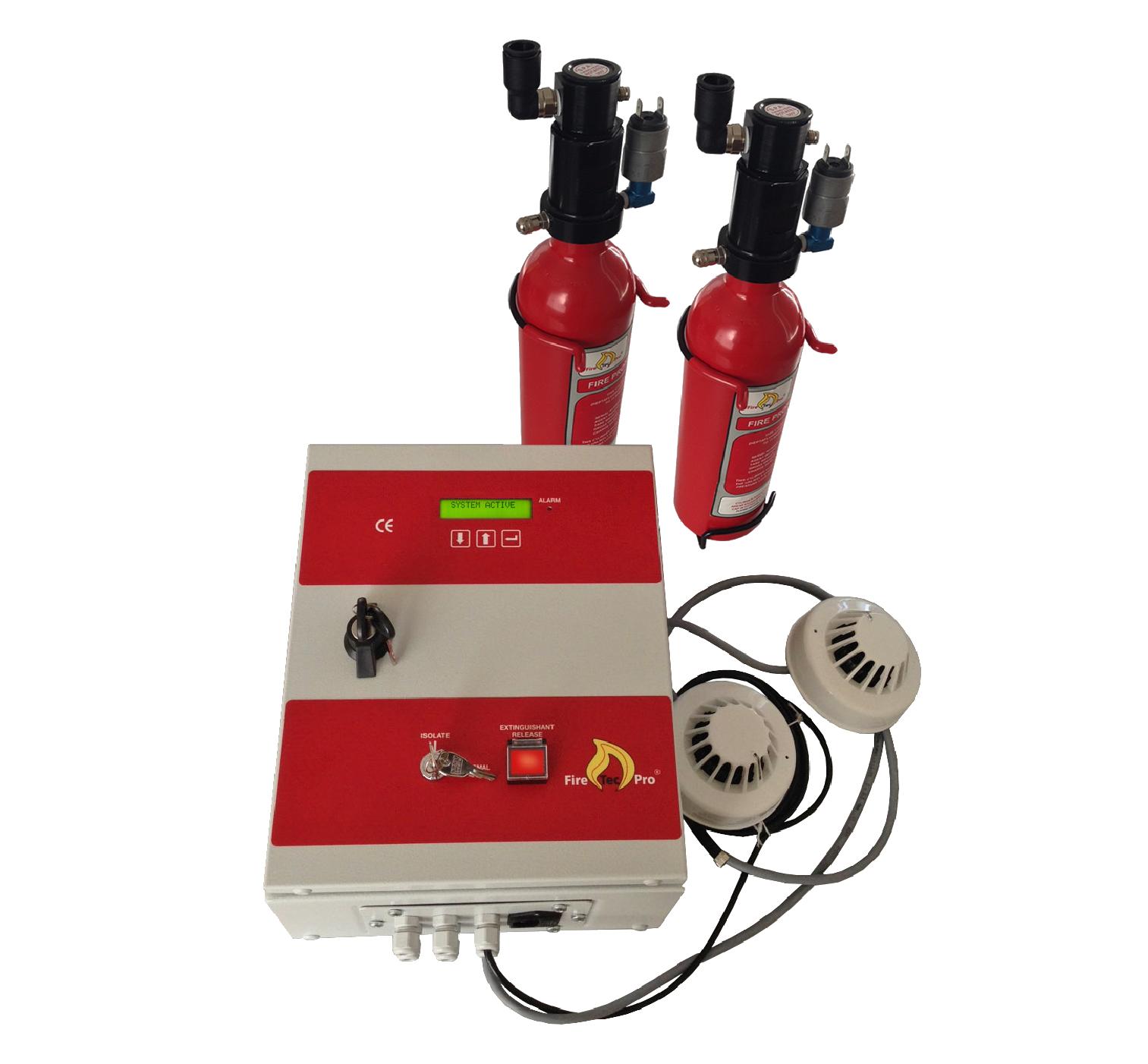 Een voorbeeld hoe de FireTecPro Industrial eruit ziet