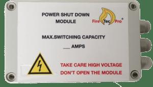 De power shut down module